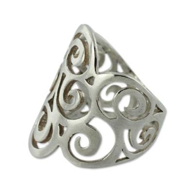 Fair Trade Jewelry Sterling Silver Ring