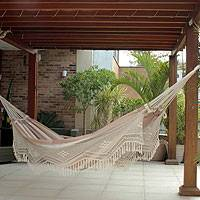 Cotton hammock Quiet Sands double Brazil