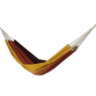 Fair Trade Cotton Hammock from Brazil (Double)