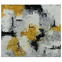 'Abstract III' - Original Brazilian Abstract Modern Painting
