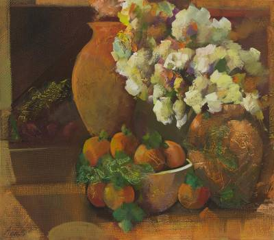 'Memories and Memories' - Original Signed Brazilian Still Life Painting