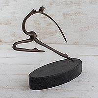 Bronze sculpture Impulse II Brazil