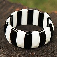 Agate stretch bracelet,