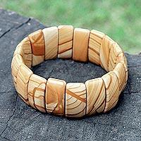 Jasper stretch bracelet,