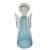 Art glass sculpture, 'Blue Angel' (14 inch) - Brazilian Handcrafted Angel Art Glass Sculpture (14 Inch) (image 2b) thumbail