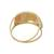 Gold cocktail ring, 'Tricolor Diamonds' - Tricolor 10k Gold Cocktail Ring from Brazil (image 2d) thumbail