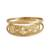 Gold band ring, 'Starry Glisten' - Star Motif 10k Gold Band Ring from Brazil (image 2a) thumbail