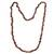 Garnet beaded necklace, 'Fiery Infatuation' - Long Garnet Beaded Necklace from Brazil (image 2a) thumbail