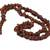 Garnet beaded necklace, 'Fiery Infatuation' - Long Garnet Beaded Necklace from Brazil (image 2g) thumbail