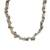 Quartz beaded necklace, 'Glistening Forest' - Long Quartz Beaded Necklace Crafted in Brazil (image 2a) thumbail