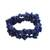 Lapis lazuli beaded stretch bracelets, 'Lapis Trio' (set of 3) - Three Lapis Lazuli Beaded Stretch Bracelets from Brazil (image 2d) thumbail