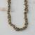 Unakite long beaded necklace, 'Rosy Sage' - Unakite Beaded Strand Long Necklace from Brazil thumbail
