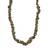 Unakite long beaded necklace, 'Rosy Sage' - Unakite Beaded Strand Long Necklace from Brazil (image 2a) thumbail