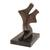 Bronze sculpture, 'Dancing' - Abstract Bronze Sculpture of a Couple Dancing from Brazil (image 2a) thumbail