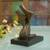 Bronze sculpture, 'Dancing' - Abstract Bronze Sculpture of a Couple Dancing from Brazil (image 2b) thumbail
