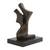 Bronze sculpture, 'Dancing' - Abstract Bronze Sculpture of a Couple Dancing from Brazil (image 2e) thumbail