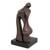 Bronze sculpture, 'Unity' - Romantic Abstract Fine Art Bronze Sculpture from Brazil (image 2a) thumbail