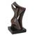 Bronze sculpture, 'Unity' - Romantic Abstract Fine Art Bronze Sculpture from Brazil (image 2d) thumbail