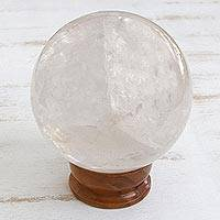 Quartz crystal ball (large)