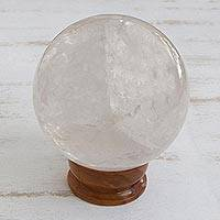 Quartz crystal ball (medium)