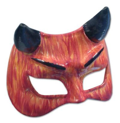 Leather Carnaval Mask