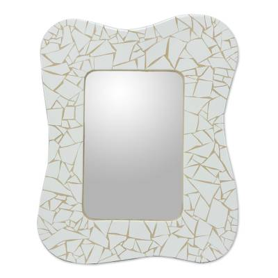 Fair Trade Mosaic Ceramic Mirror