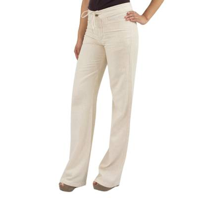 Women's cotton pants, 'Naturally Modern' - Women's Handcrafted Central American Cotton Pants
