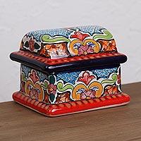 Ceramic decorative box,