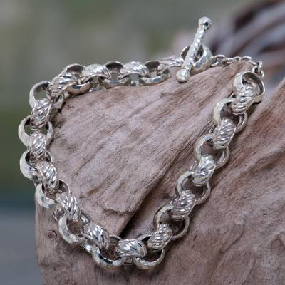 Sterling silver chain bracelet, Alternatives