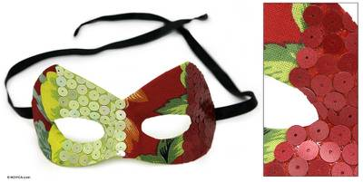 Carnaval mask, 'Tropical Fantasy' - Carnaval mask