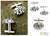Sterling silver cufflinks, 'Puzzle' - Sterling silver cufflinks thumbail