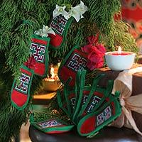 Cotton ornaments,