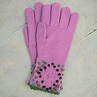 Alpaca blend gloves,