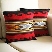 Alpaca cushion covers,
