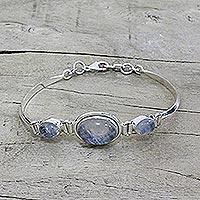 Rainbow moonstone pendant bracelet,