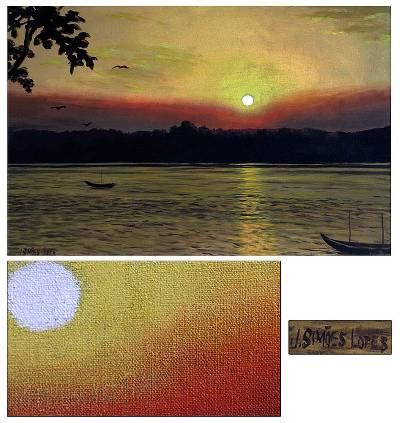 'Sunset on the Araguaia River'