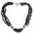 Iolite torsade necklace, 'Calcutta Nights' - Iolite torsade necklace thumbail