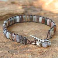 Agate wristband bracelet,