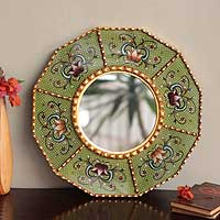 Mohena wood mirror,
