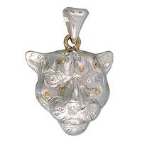 Gold plated pendant,