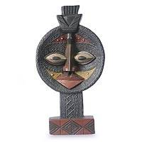 Wood sculpture, 'Bakota Protector' - Wood sculpture