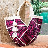 Cotton hobo bag,