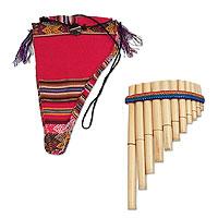 Reed zampona panpipe, 'Andean Panpipe' (Peru)