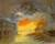 'Sunset IV' - Original Oil on Canvas Painting from Brazil thumbail