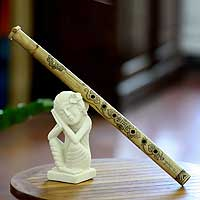 Flute, 'Shy Princess' - Bamboo Flute from Indonesia