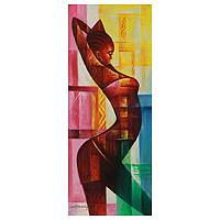 'Strength of a Woman' - Original Painting from Africa