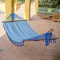 Cotton hammock Take Me to the Sea single Guatemala