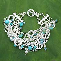 Pearl wristband bracelet,