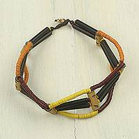 Bamboo and wood choker,