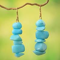 Beaded earrings,